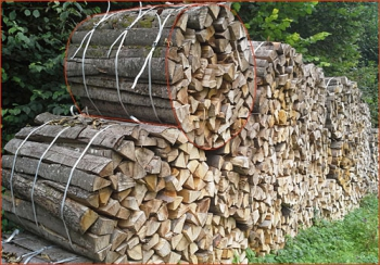 Buche-Eiche ca. 1.0 rm - Rugel | Holzstück-Länge ca. 100 cm