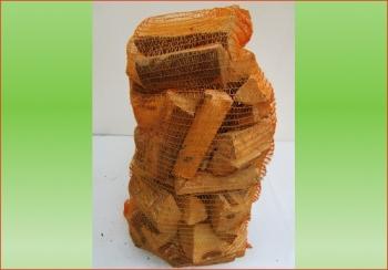 Hartholz (Esche-Buche) im 80 ltr. Sack   Holzstück-Länge &nbsp ca. 20 cm