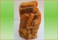Hartholz (Esche-Buche) im 80 ltr. Sack | Holzstück-Länge &nbsp ca. 20 cm