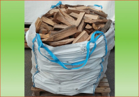 Hartholz | ca. 1.3 srm - Big Bag | Holzstueck-Laenge ca. 33 cm