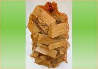 Fichte-Tanne im 80 ltr. Sack   Holzstück-Länge ca. 20 cm